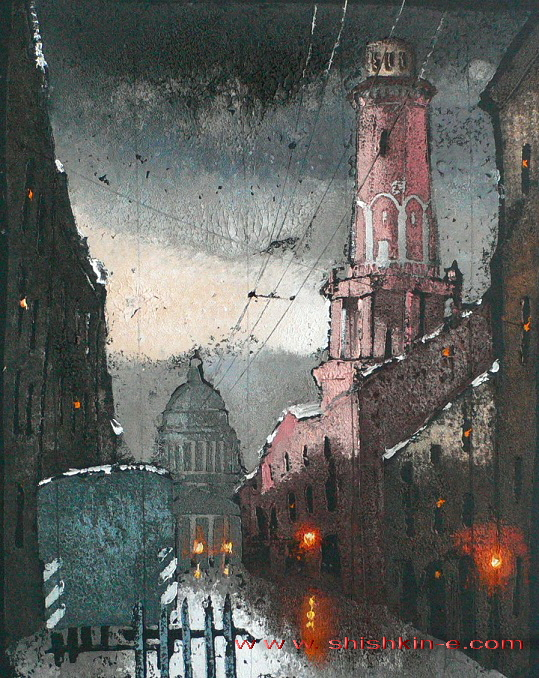 最Podyacheskaya街
