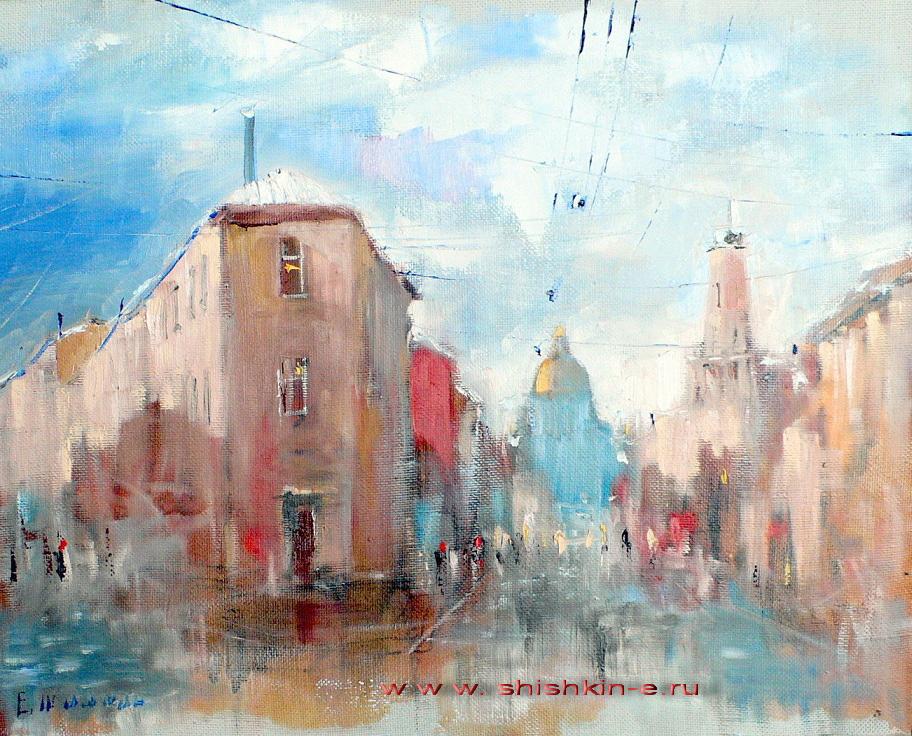 La mayoría calle Podyacheskaya. San Petersburgo
