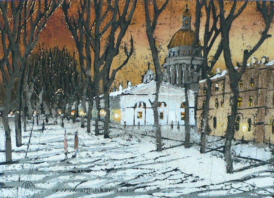 Konnogvardeysky大道。圣彼得堡
