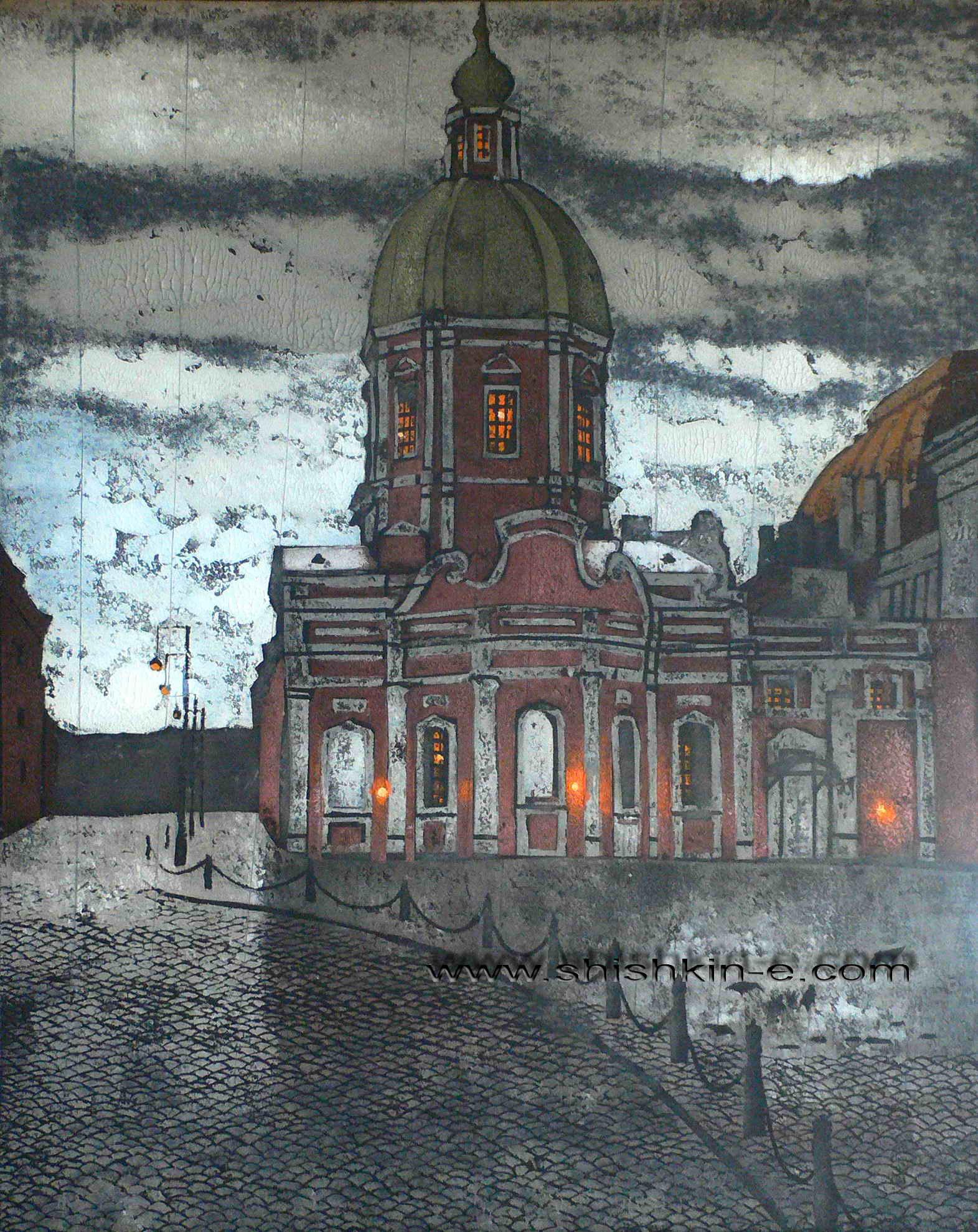 Пантелеймоновская церковь, Санкт-Петербург